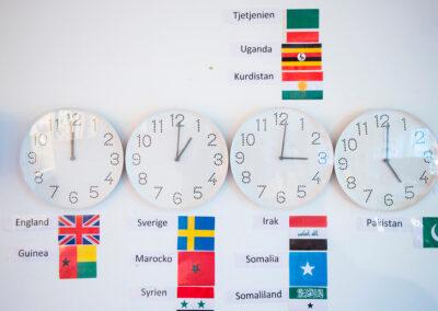 Förskolan IQRA Väst - värsldsklockor